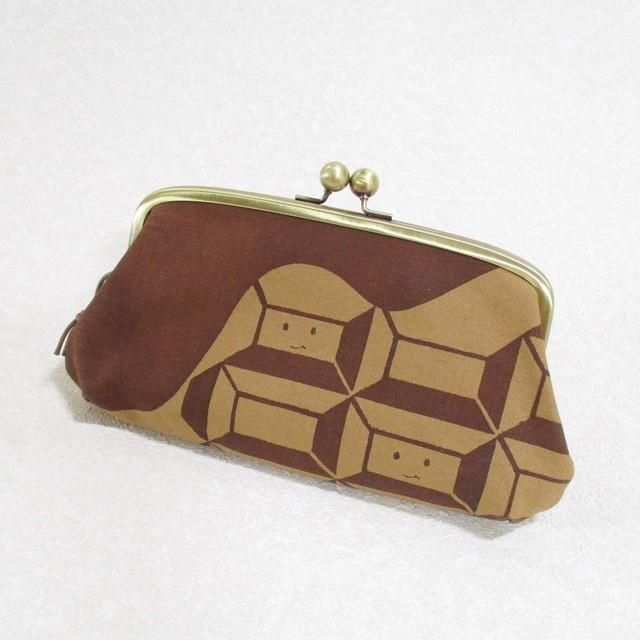 チョコレート柄 長財布