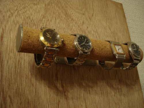 腕時計スタンド 4本掛け壁付き丸パイプ腕時計スタンド ak-design