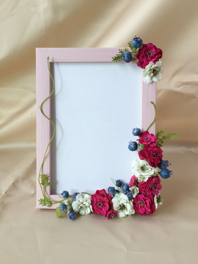Photo frame 【wild rose】