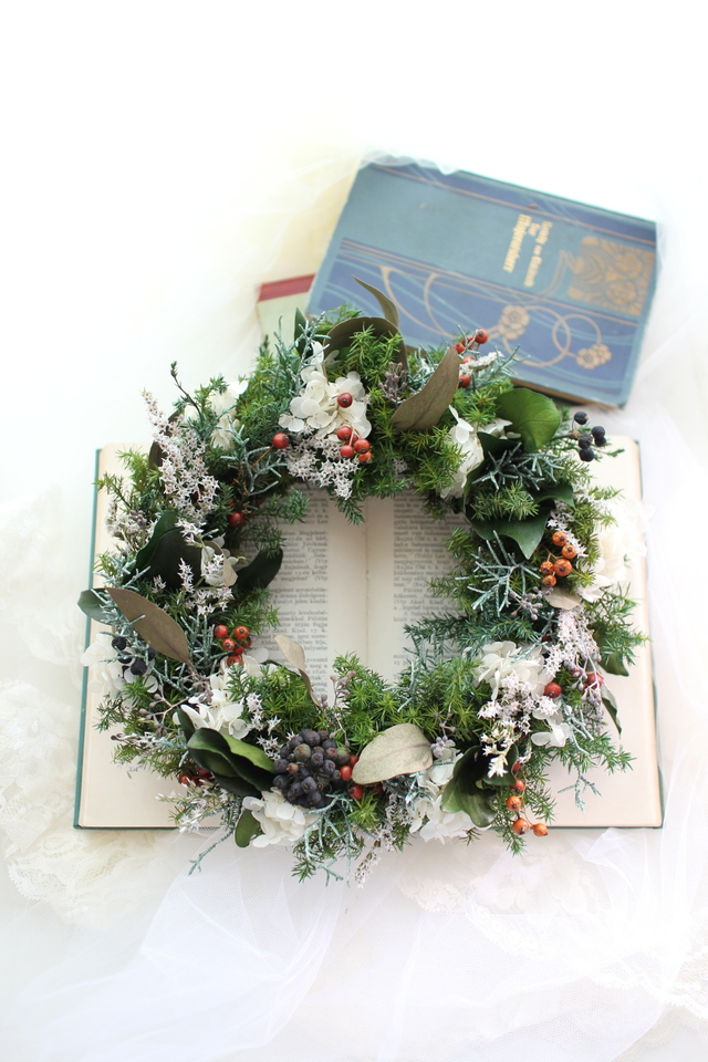 Chistmas wreath2016 #101  [���ꥹ�ޥ�...