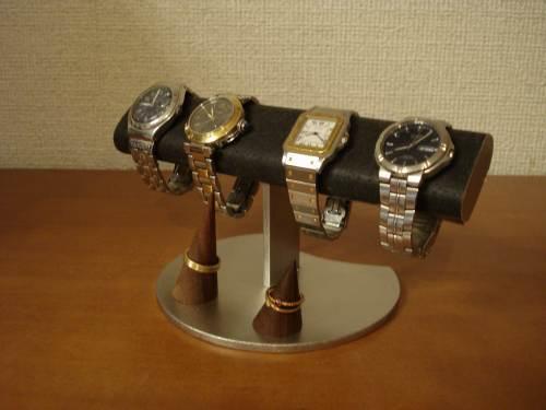 誕生日プレゼントに!だ円パイプ腕時計、指輪スタンド ak-design