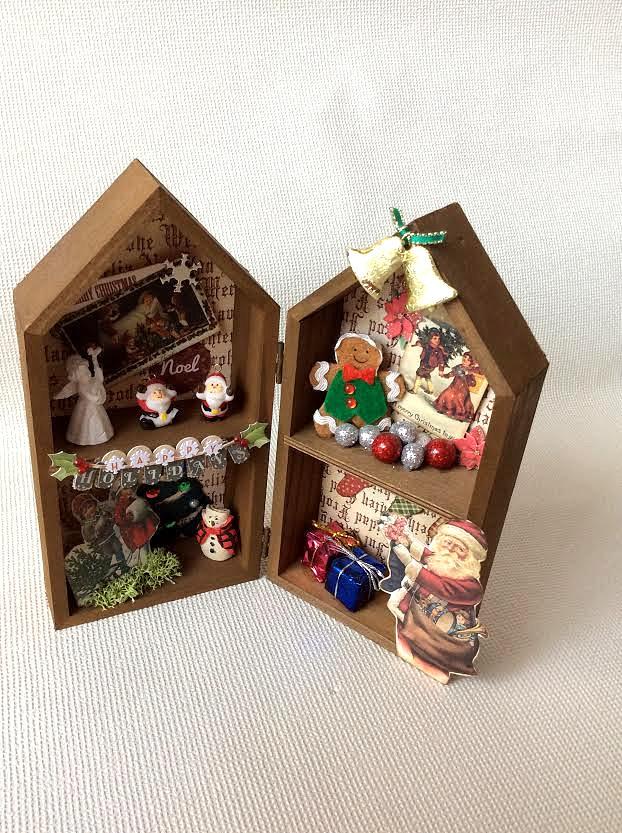 クリスマス コラージュハウス