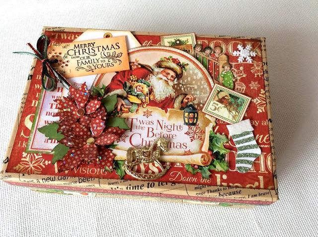 クリスマス コラージュBOX