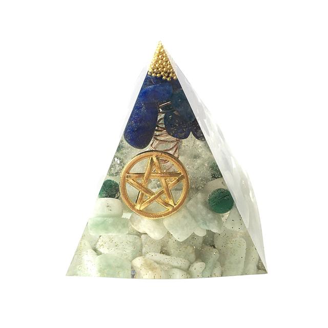魔除け!厄除け!☆ピラミッド型オルゴナイト