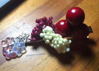 果実とさくら