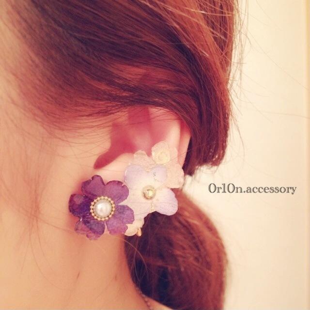 flower Earring.【no/2】