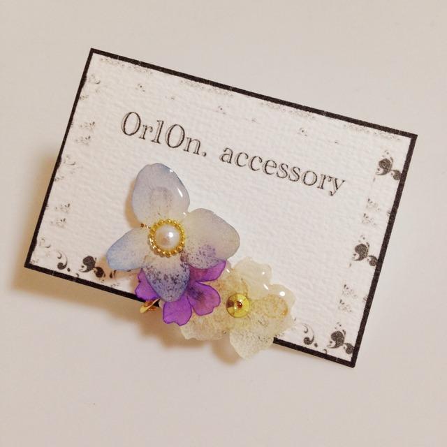 flower Earring.【no/4】