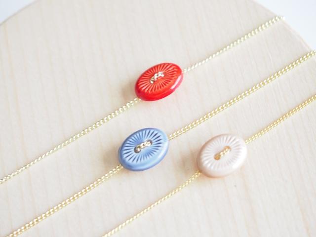 アンティークボタンのブレス
