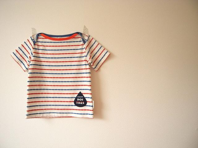 クロスショルダー半袖Tシャツ*90size