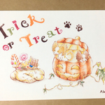 Trick or treat! パピヨン