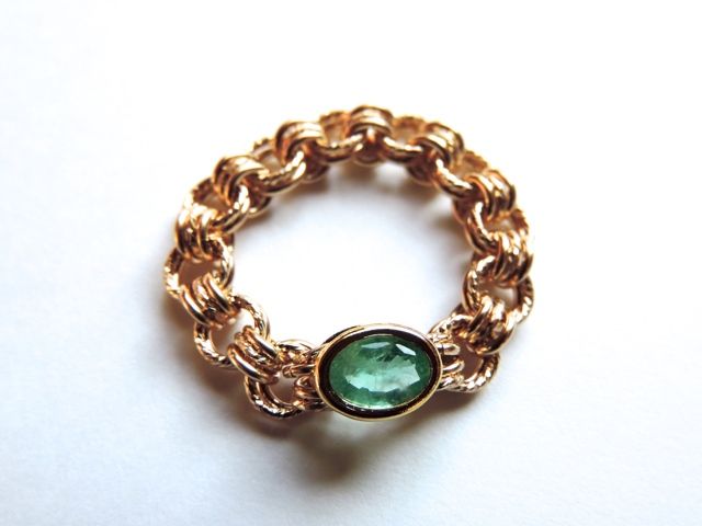 �� Aqua greenish ( all ) ��Ring by K14GF