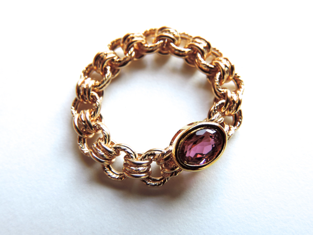 �� Ladylike pink ��Ring by K14GF