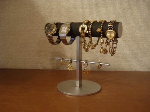 プレゼントに! 丸パイプ腕時計、ブレスレット、イヤリングスタンド ak-design