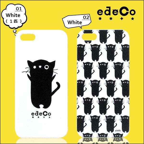 iPhoneケース *edeCo* くろねこ-エデコ