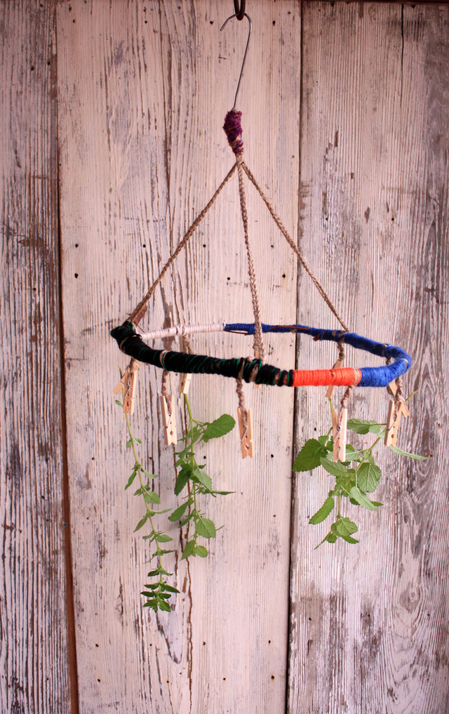 ●mitakataaan様オーダー品●木と毛糸のピンチハンガー