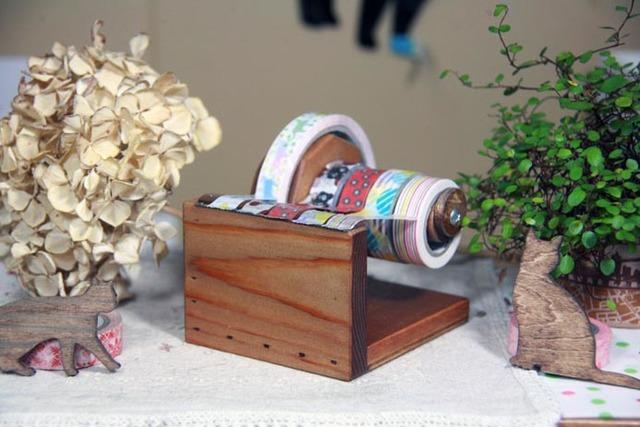 簡単楽々カットのミニ楽セロマスキングテープカッター