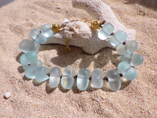 Seaglass Mermaid Bracelet