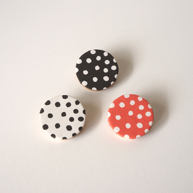 rondo brooch - dot �� �֥�å� / �ۥ�...