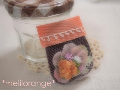 ★お花のコンフィチュールブローチ
