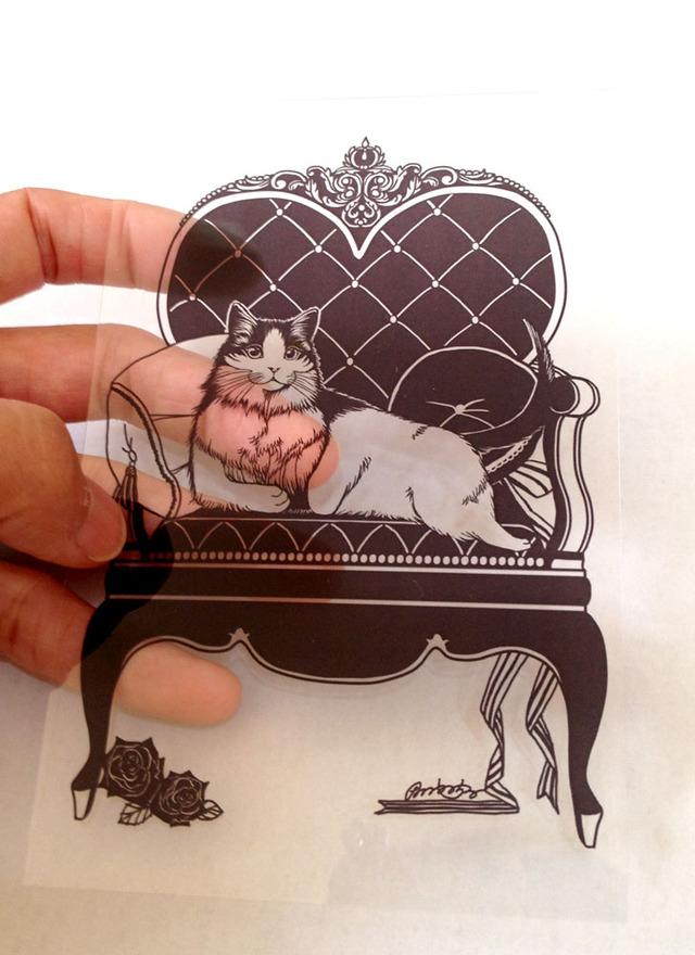 「Queen」クリアカード
