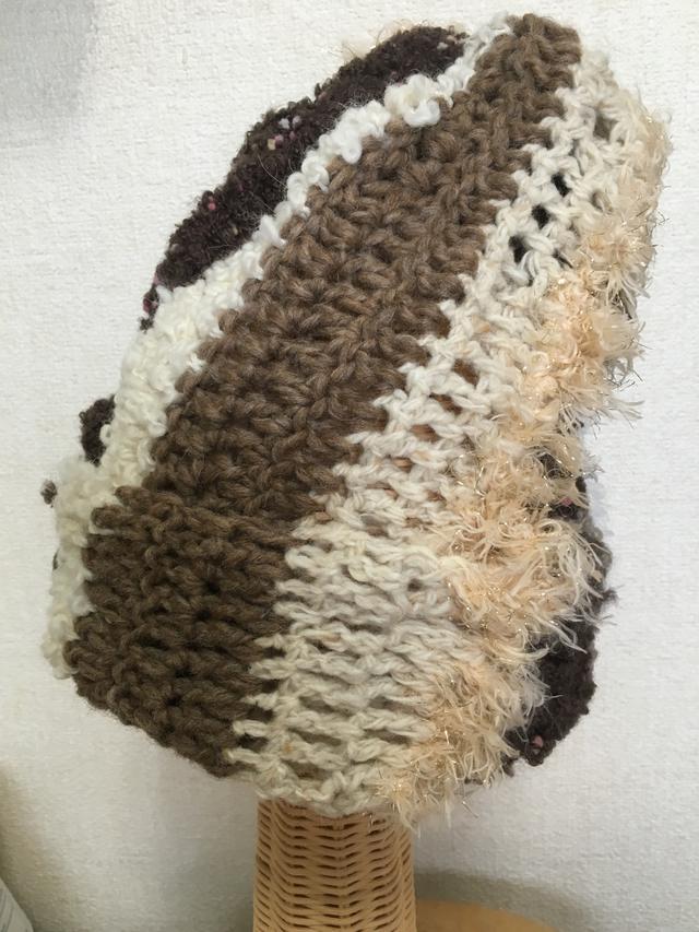 変わり編みニット帽