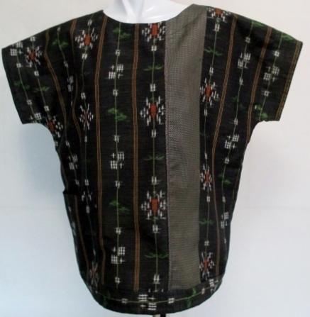 着物リメイク 着物で作ったプルオーバー 1853