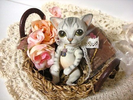 Tam Doll 猫球のレト