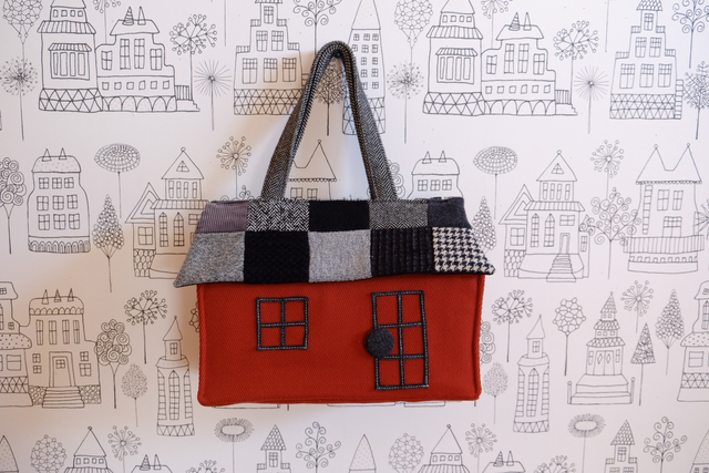 OUCHI box bag L ����Υȡ���ѥå��������