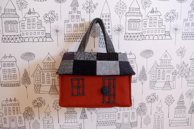 OUCHI box bag S ����Υȡ���ѥå��������