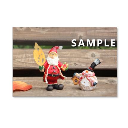 1009) クリスマス 2  ポストカード5枚組
