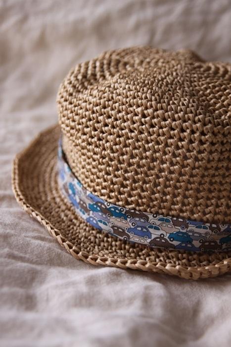 なつのコドモ帽子 for Kid's シナモン