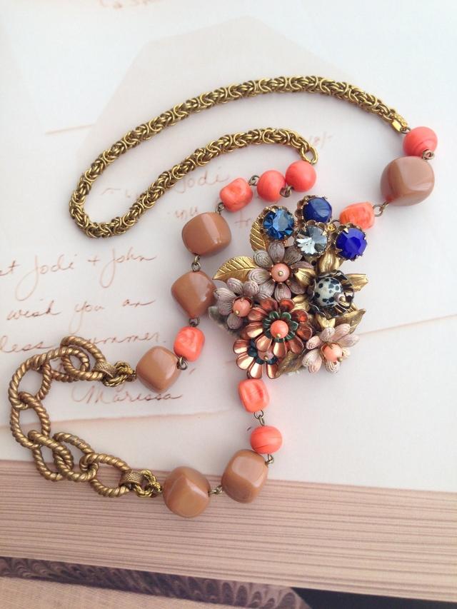 龍田姫のブローチ&ネックレス
