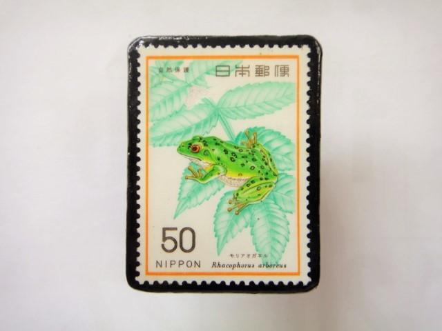日本 切手ブローチ 1532