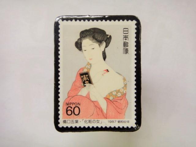 日本 切手ブローチ 1536