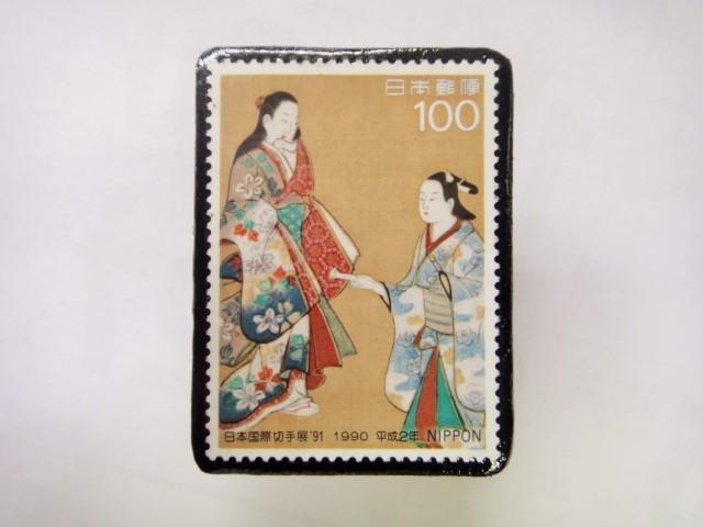 日本 切手ブローチ 1539
