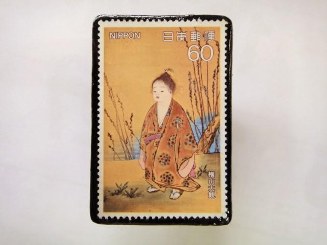 日本 切手ブローチ 1540