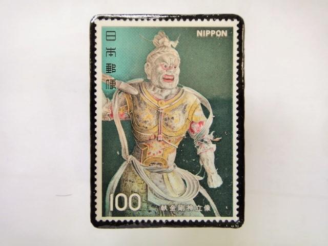 日本 切手ブローチ 1544