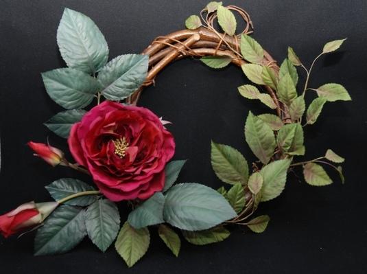 薔薇のリース