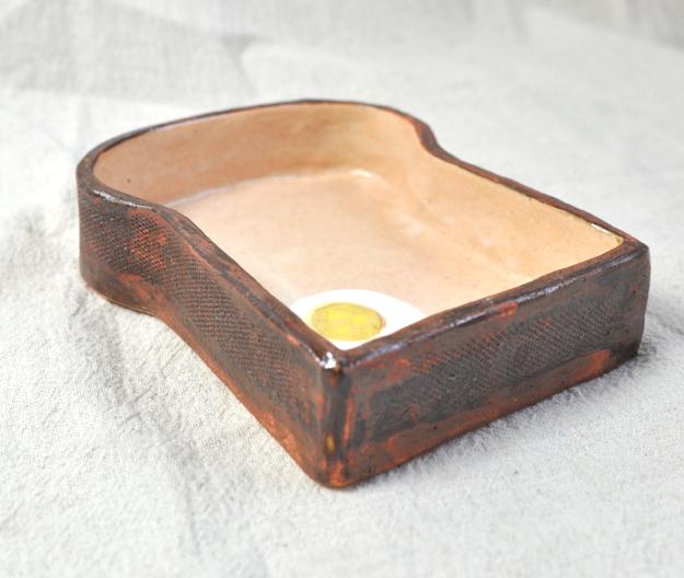 食パンのグラタン皿 〜Sサイズ〜 (オーブン料理対応)