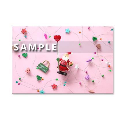 1012)  クリスマス 4  ポストカード5枚組