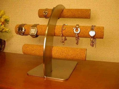 腕時計を飾ってインテリア!丸パイプ16本掛け腕時計スタンド ジャイアントスーパーロング[ak-design
