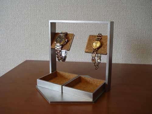 プレゼントに! バーデカイトレイ腕時計スタンド  ak-design