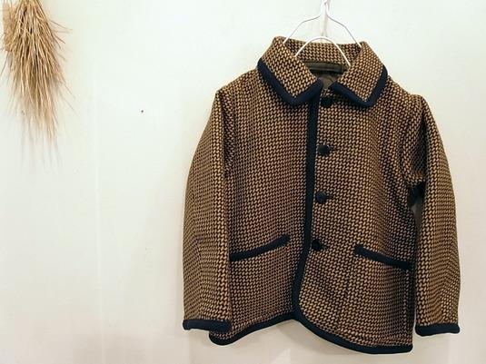 【100cm】パイピング・コート(帽子付き)