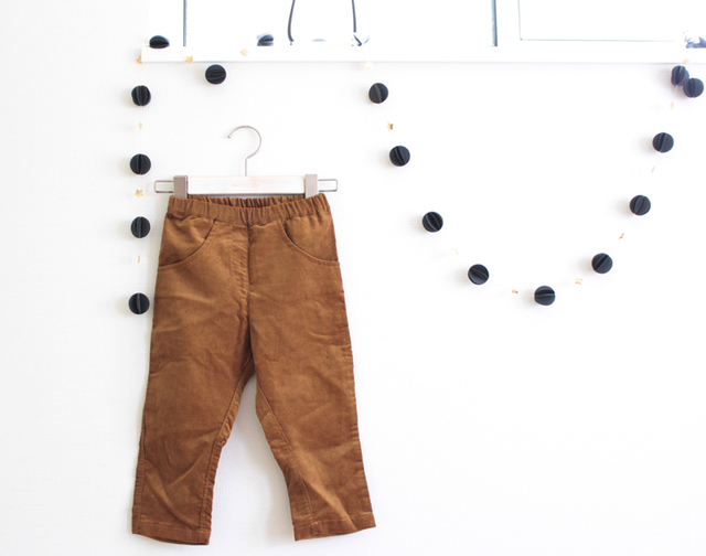 kids sarouel pants -コーデュロイ size100