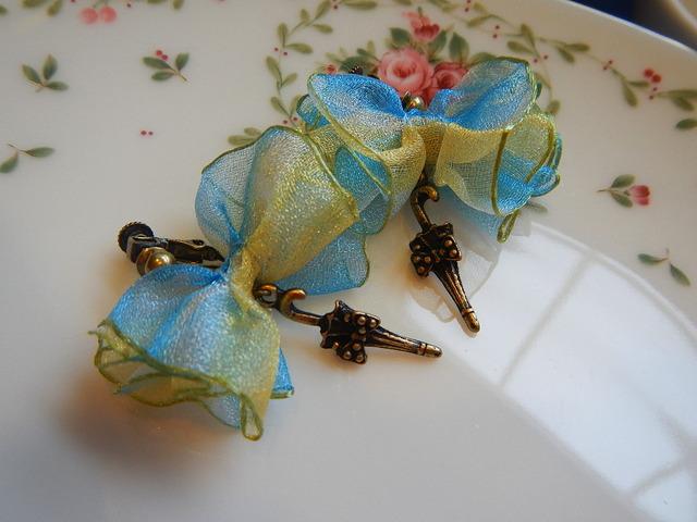 夏近し 日傘のご準備を のイヤリング