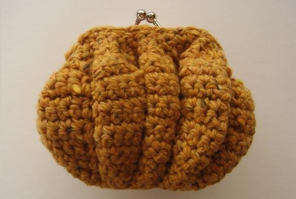 かぼちゃのガマグチ