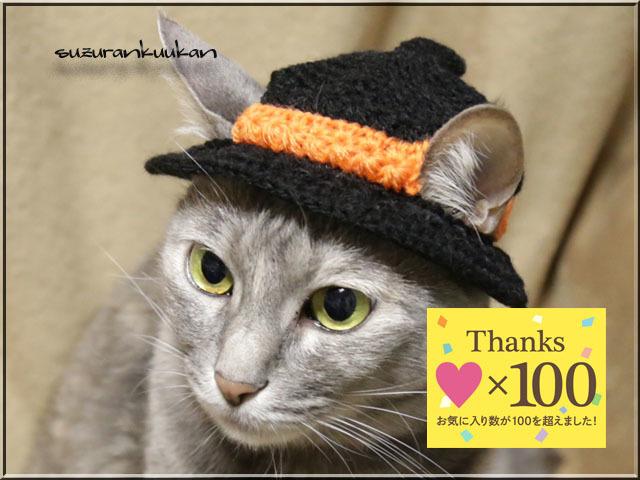 【猫用】ハロウィン帽子072<黒>