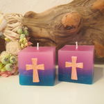 CROSS CUBE CANDLE