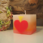 QUEEN HEART CANDLE