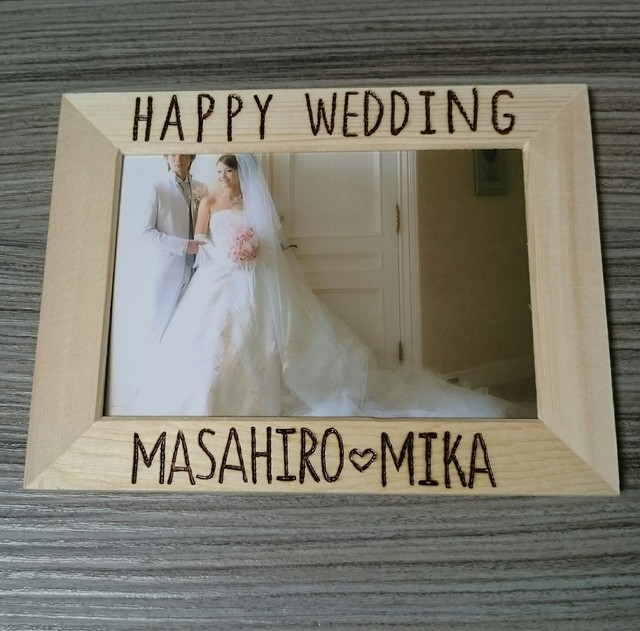 ̾����*�ե��ȥե졼����Happy wedding��
